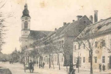 A Kossuth Lajos utca 1910 körül 2