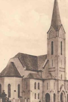 A református templom az 1920-as években