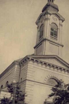 A katolikus templom az 1930-as években