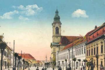 A Kossuth Lajos utca 1915-ben