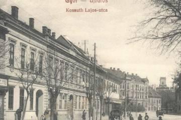 A Kossuth Lajos utca 1910 körül