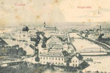 Újváros az 1890-es években