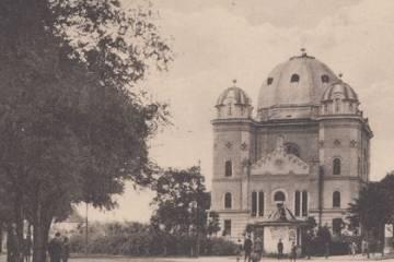 Petőfi téri részlet az 1930-as években