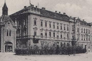 Újvárosi részlet az 1910-es években