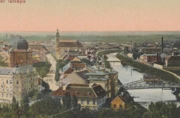Újvárosi látkép 1910 körül