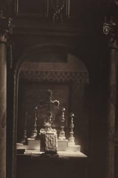 A rác templom oltára