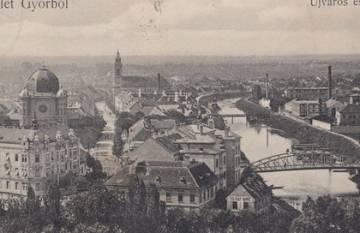 Újváros és Sziget az 1900-as években