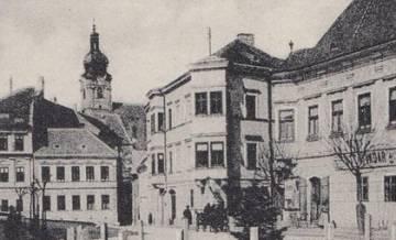 Újvárosi részlet az 1910-es években 2