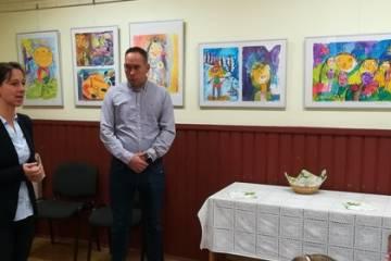 Csallóközi Színes Ceruzák nemzetközi gyermekrajz kiállítás 4